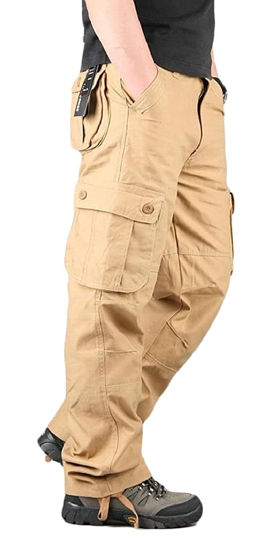 omniscient Mens Outdoor Casual Military Tactical Cargo Pants//Trouser Work Pant