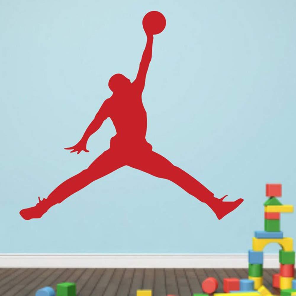wukongsun Calcomanías de Pared de Baloncesto niño Dormitorio Art ...