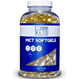 Kuss My Keto MCT Oil Capsules - 1000 mg 300 Count - Take MCT with You On The Go - Quick, Convenient and Easy to Digest Softgels That Support Natural Sustained Energy, Mental Focus & Weight Management
