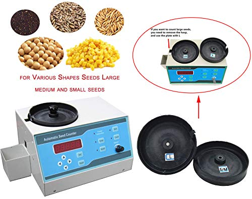 VTSYIQI Automatic Seeds Counter Machine Automatic Counting Instrument Sly-C with Adjustable Speed for Various Shapes Seeds Large Medium and Small Seeds LED Display by VTSYIQI (Image #9)