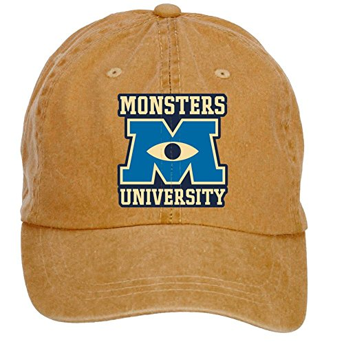 Monsters University Hat (DESBH Unisex Monsters University Design Baseball Caps)