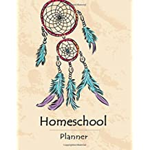 Homeschool Planner: Teaching Plan Book, Student Birthdays, Daily Schedule, Yearly Planner, Timetable, Field Trip Plan, Teacher Organizer, Size 8.5 x 11 Inch, 100 Pages