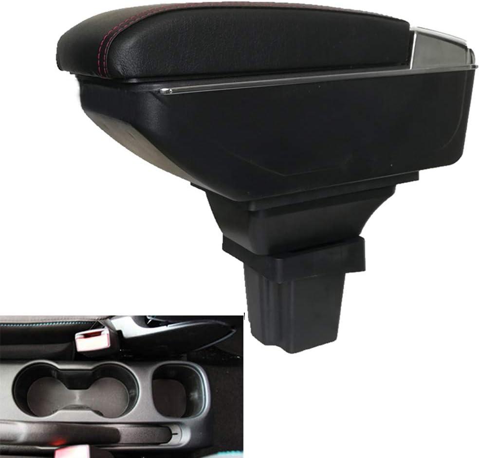 Leder Autoinnenausstattung Mittelkonsole Armlehnen Aufbewahrungsbox