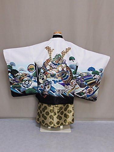 五歳男児ミニ 着物と袴のセット ちょっと小さめの五歳男児・七五三用着物セット D4458-01A