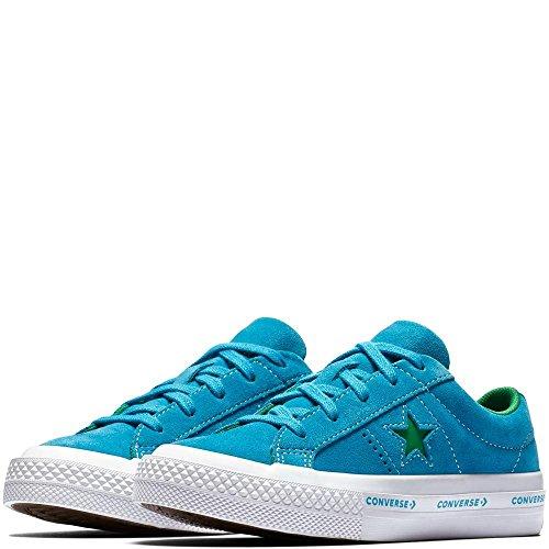 Adulto Green Star One Converse Suede Deporte de Hawaiian Ocean Zapatillas Ox Jolly Azul Lifestyle Unisex 486 qfA6wqz