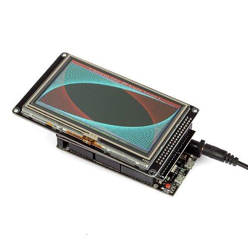Pantalla LCD TFT SainSmart de 4.3 pulgadas para Arduino DUE MEGA 2560 UNO R3 (4.3 LCD)