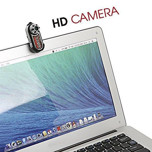 Mengshen 720P 1080P cámara de vídeo HD Mini espía ocultos cámara pulgar 170 grados IR Night Vision + Motion detección DVR MS-QQ5: Amazon.es: Bricolaje y ...
