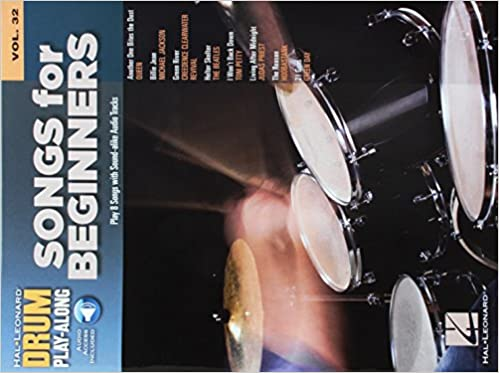 Songs for Beginners: Drum Play-Along Volume 32: Hal Leonard