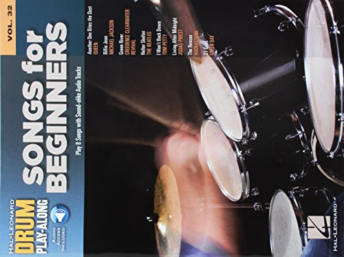 Songs for Beginners: Drum Play-Along Volume 32