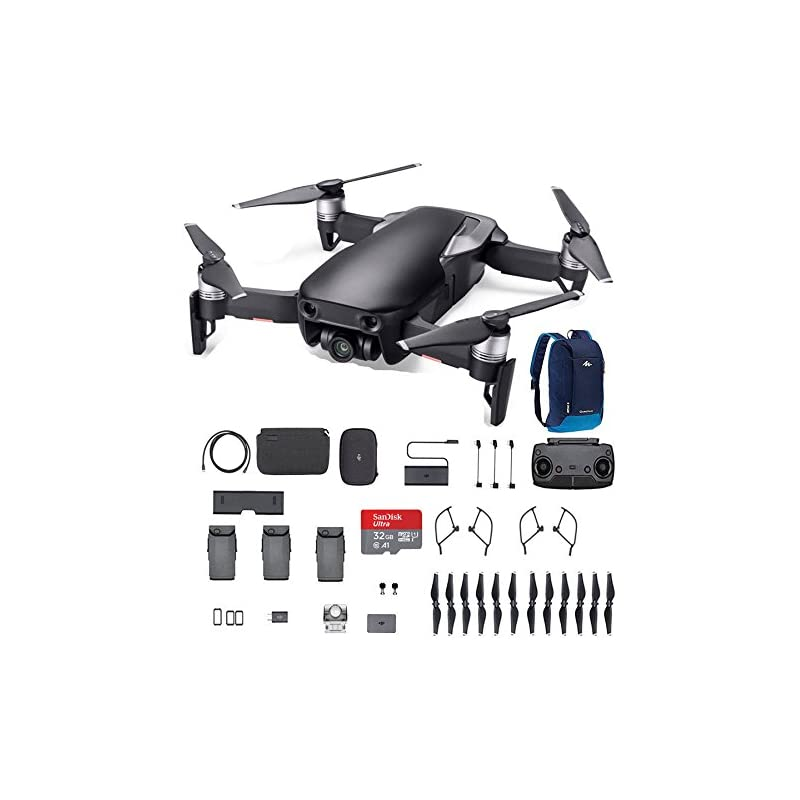 DJI Mavic Air, Fly More Combo, Onyx Blac
