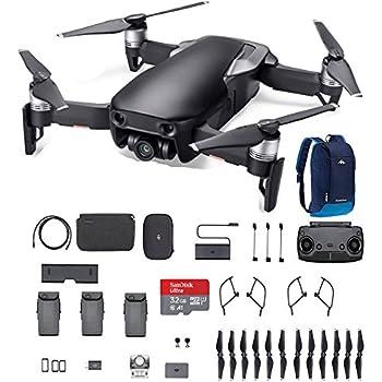 DJI Mavic Air, Fly More Combo, Onyx Black, 32G SD Card, and more