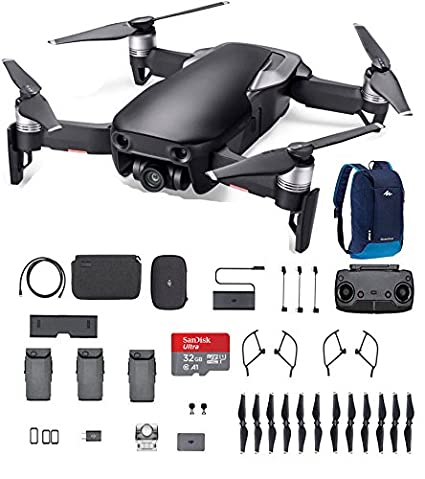 DJI Mavic Air Fly More Combo Onyx Black 32G SD Card And