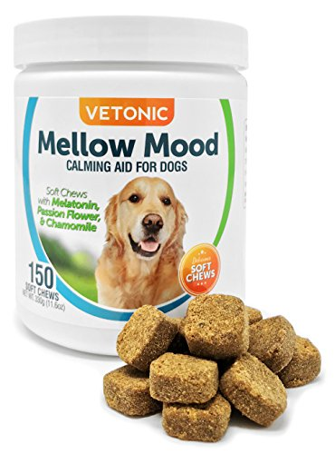 Mellow Mood Dog Calming Aid with Melatonin