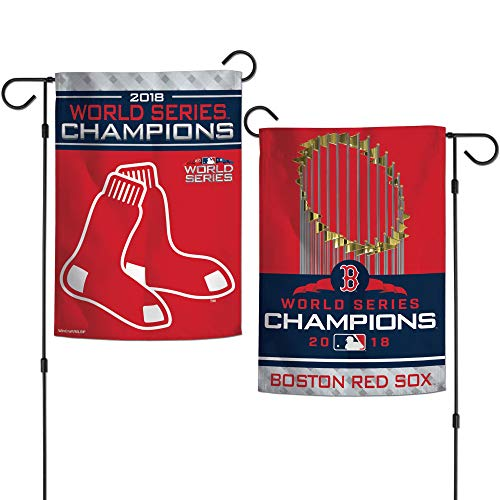 (WinCraft Boston Red Sox 2018 World Series Champions 2-Sided 12