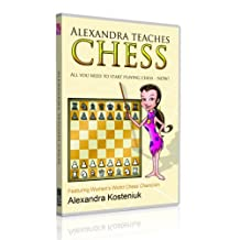 Alexandra Teaches Chess Mac & Pc Software for Kids with Dinosaurs