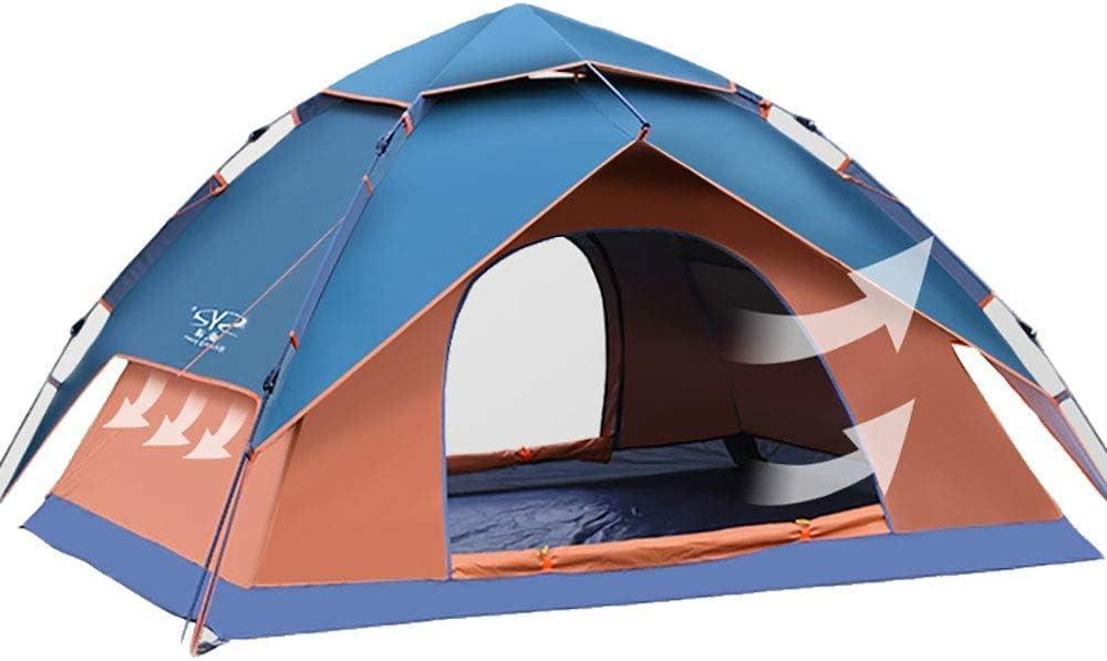 Tienda Holiday Dome Carpa Toldo Toldo Impermeable automático Fácil de Instalar Tienda de campaña Salvaje Orange