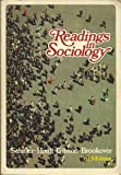 Readings in Sociology, Edgar Albert Schuler, 0690004613