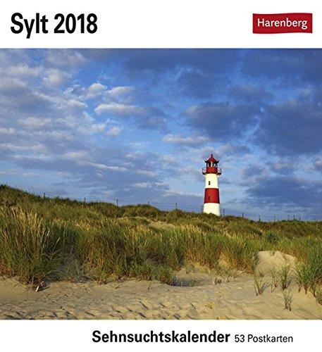 Sylt - Kalender 2018: Sehnsuchtskalender, 53 Postkarten