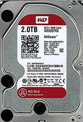 Western Digital WD20EFRX 2TB 3.5-inch SATA 6Gb/s 64MB Cache Hard Drive