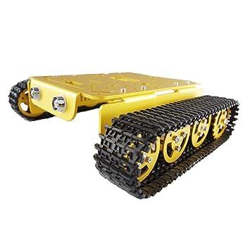 À Sunnimix T101 Smart Chenilles Véhicule Tank Robot Sm Chassis De eH9WE2IYD