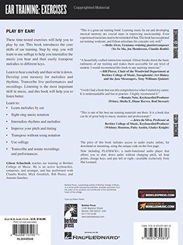 Beginning Ear Training (Ear Training: Exercises) Bk/Online Audio ...