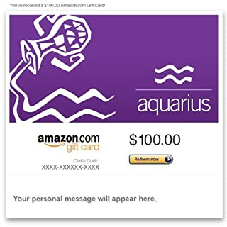 Amazon Gift Card - Email - Birthday (Aquarius: Jan. 20-Feb. 18) (B00DNHLG82) | Amazon price tracker / tracking, Amazon price history charts, Amazon price watches, Amazon price drop alerts