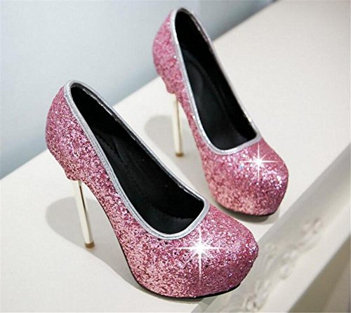 Club Stiletto Tacco donna da spillo a Scarpe D GAOGENX Party wqO1I1p