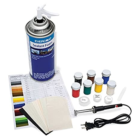Vinyl And Dashboard Repair Kit With Sealant Foam - Automotive