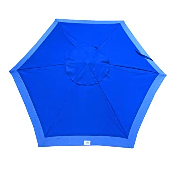 7 Foot Deluxe Beach / Patio Umbrella UPF100   Market Style