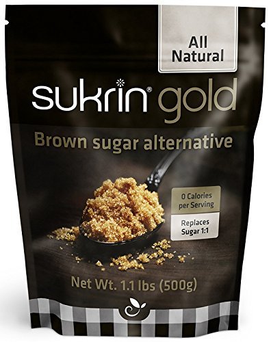 Sukrin Gold - The Natural Brown Sugar Alternative - 1.1 lb Bag (Best No Bake Chocolate Peanut Butter Oatmeal Cookies)