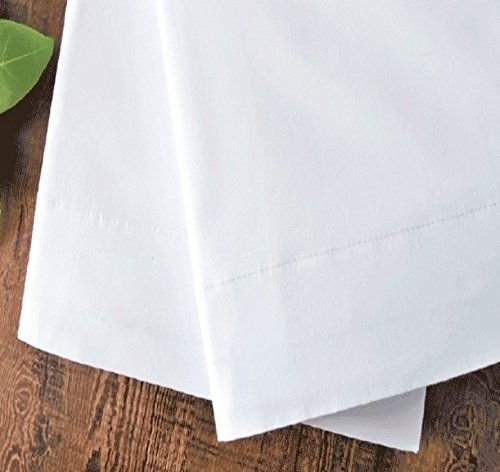 Standard White Pillowcases, T-180 Percale