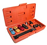 7pc Fuel Line Disconnect Tool Removes 1/4