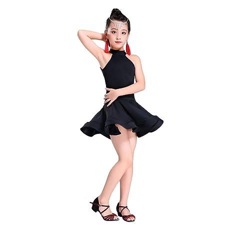 Trajes de baile para niñas Niños Niñas Spandex sin mangas ...