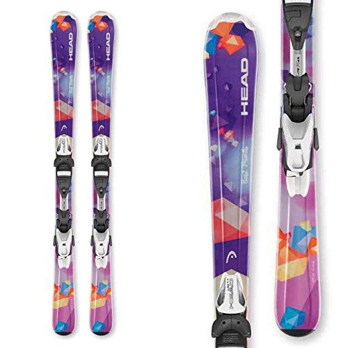 Jr Ski Binding (2016 Head Best Friends Junior Skis with LRX 4.5 bindings (97cm))