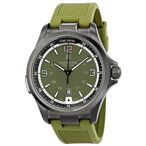 "Victorinox Men's 241595 ""Night Vision"" Stainless Steel Watch"