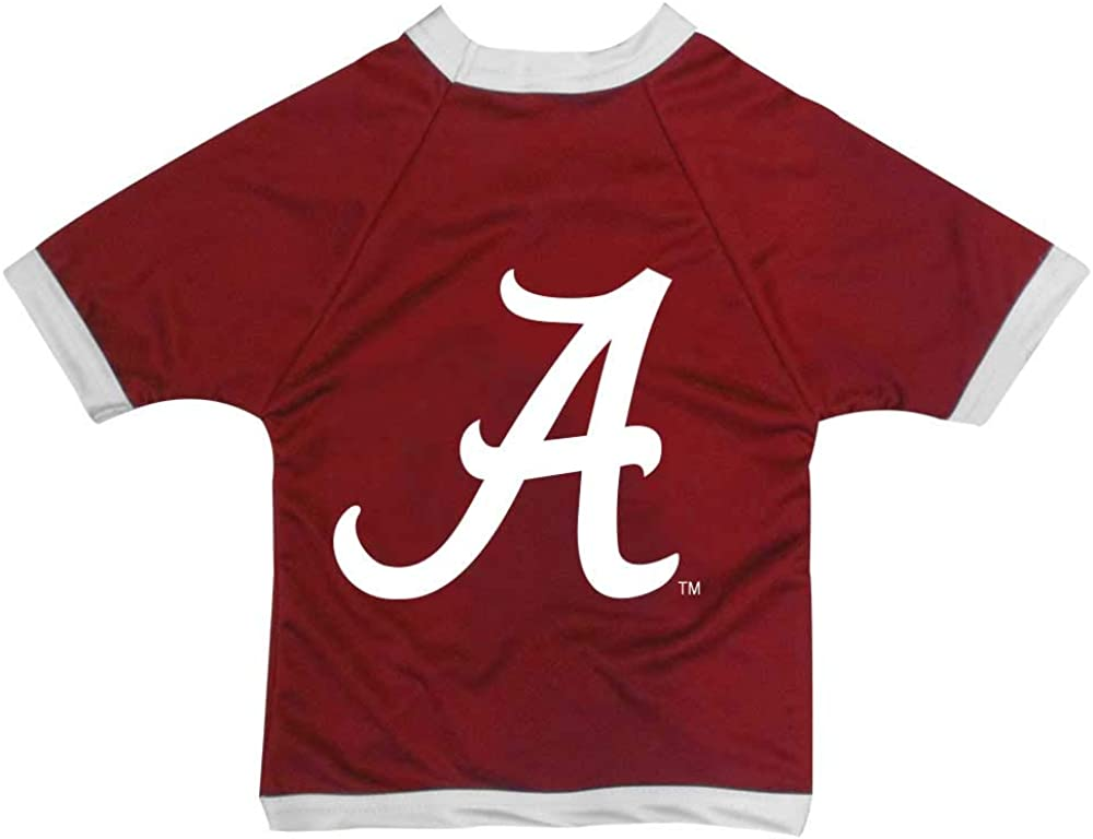 NCAA Alabama Crimson Tide Athletic Mesh Dog Jersey