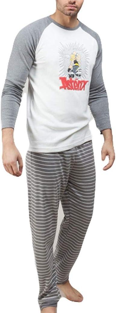 GISELA Pijama para Hombre de Invierno de Astérix (L): Amazon ...