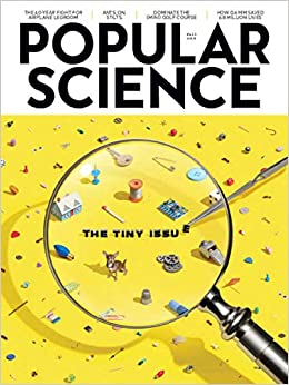 Popular Science Magazine Fall 2018 The Tiny Issue Popular