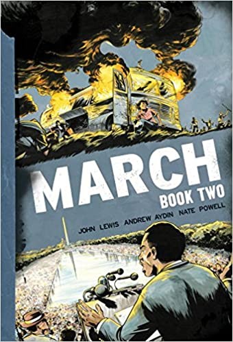 March: Book Two: John Lewis, Andrew Aydin, Nate Powell ...