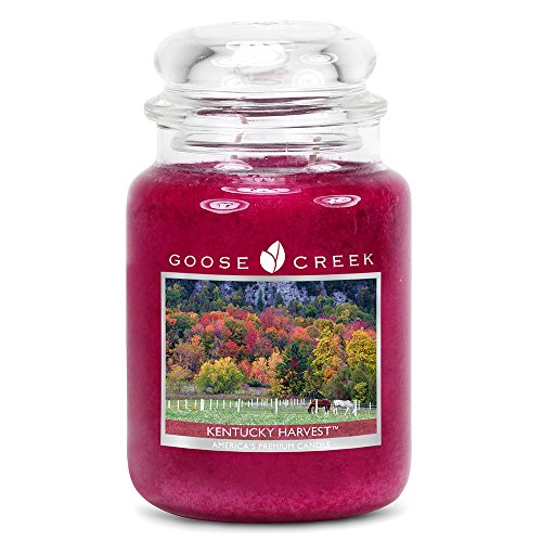 Goose Creek Kentucky Harvest Essential Jar Candle, 24 oz by Goose Creek