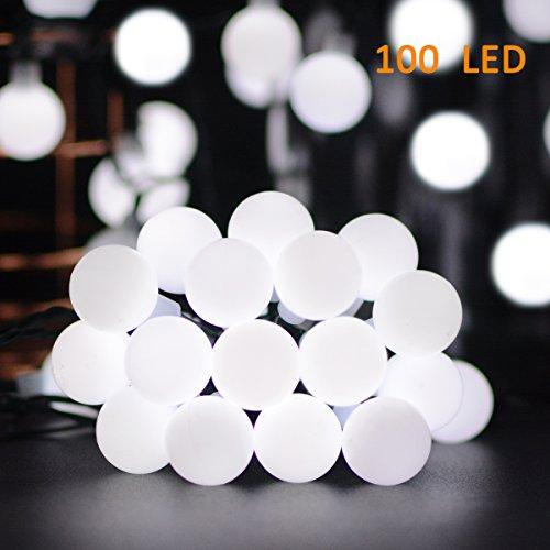 Outdoor Led Ball Lights White - 2