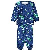 Pijama Infantil Menino Estampa Jacaré No Espaço Brandili
