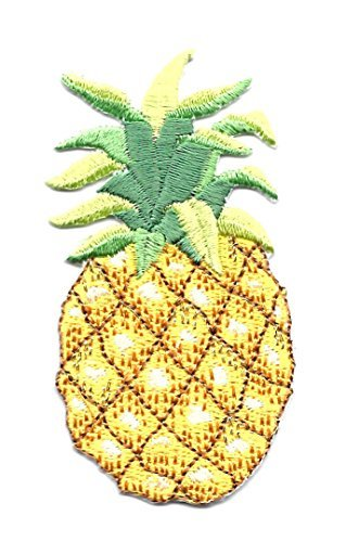 Tropical - Embroidered Iron on Applique Patch - 3