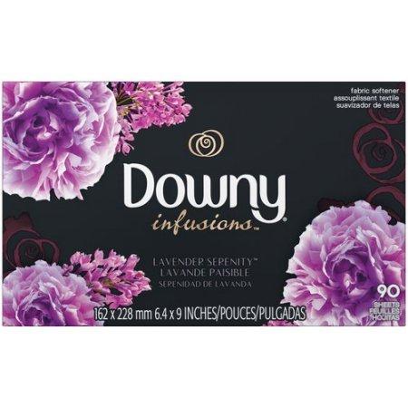ダウニーシート インフュージョンラベンダー 90枚 (Downy Sheets Infusions Lavender)