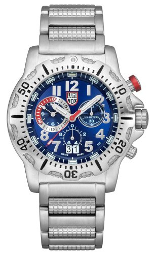 Luminox Dive Chrono Silver Watch 8154RP