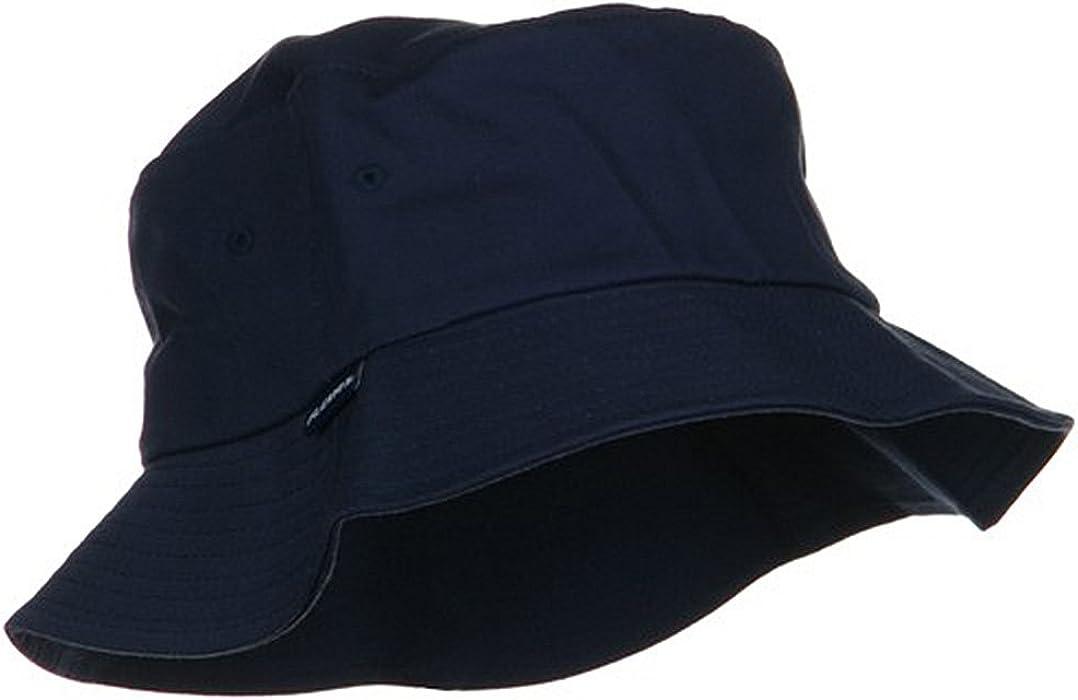 da1450f4e7a One Size Flexfit Cotton Twill Bucket Hat - Navy at Amazon Men s ...