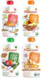 Happy Baby Organic Grains & Protein Stage 3 Variety Pack of 16
