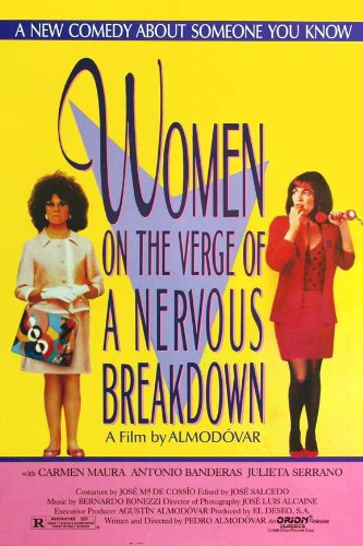 Amazon.com: Women on the Verge of a Nervous Breakdown Movie ...
