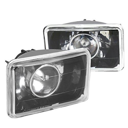 Spec-D Tuning LHP-4X6JM Black Projector Headlight (4X6)