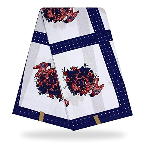 Fabric African| 6yards veritable Batik Prints Ankara African Wax Print Fabric Wax hollandais African Wax Cloth hollandais Wax wrapparBy NUADOO